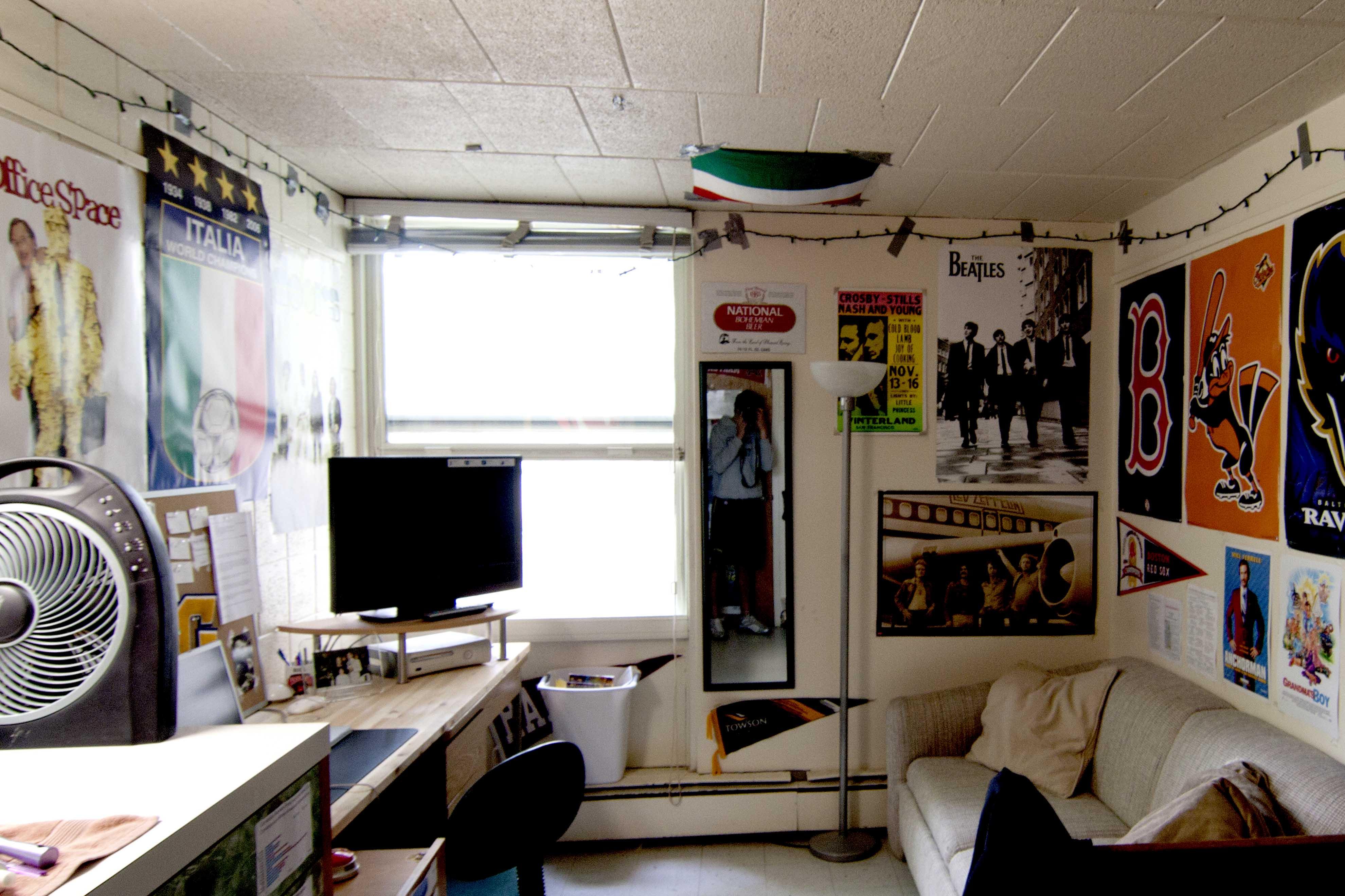 Goucher Dorm Room Pictures