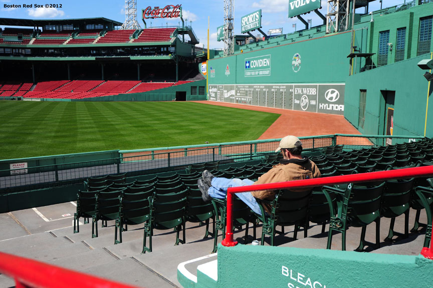 Fenway Park Cleaning Billie With An I E