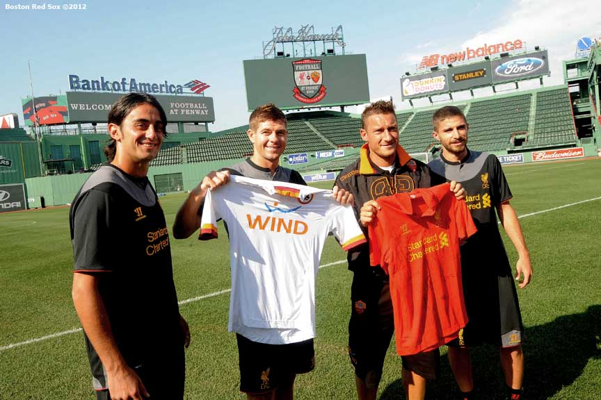 Gerrard was the complete player, but Totti is a god – Riise