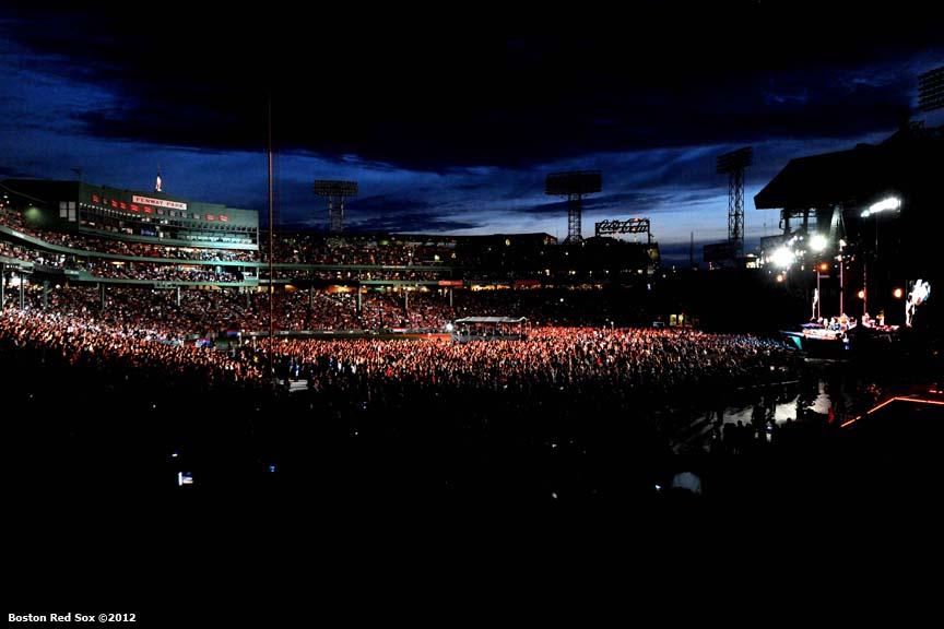 Bruce Springsteen Tour  Fenway