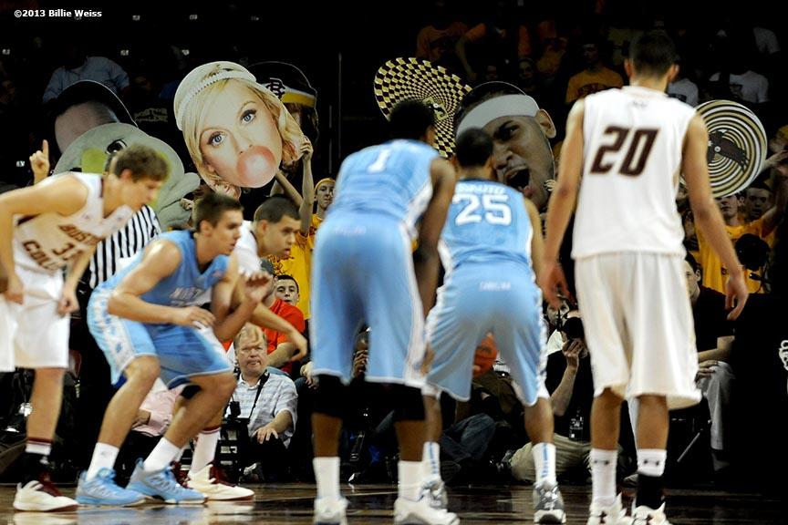 Men's Basketball Photos: UNC vs. BC. – Billie with an I.E.