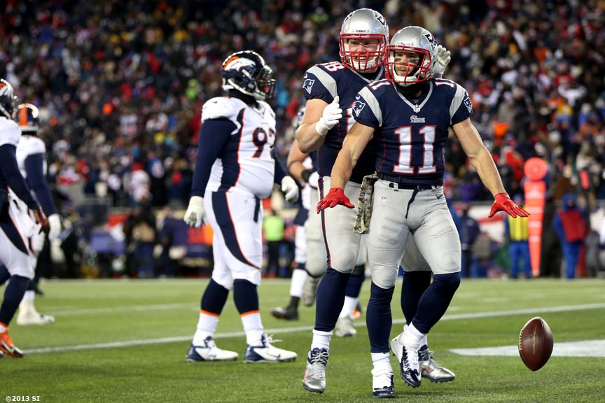 """Sunday, November 24, 2013 at Gillette Stadium in Foxborough, Massachusetts."""