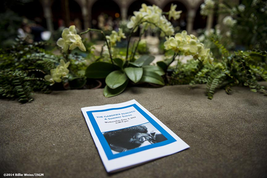 """A brochure is displayed during the Friends of Fenway Court Patron event at the Isabella Stewart Gardner Museum in Boston, Massachusetts Wednesday, June 4, 2014."""