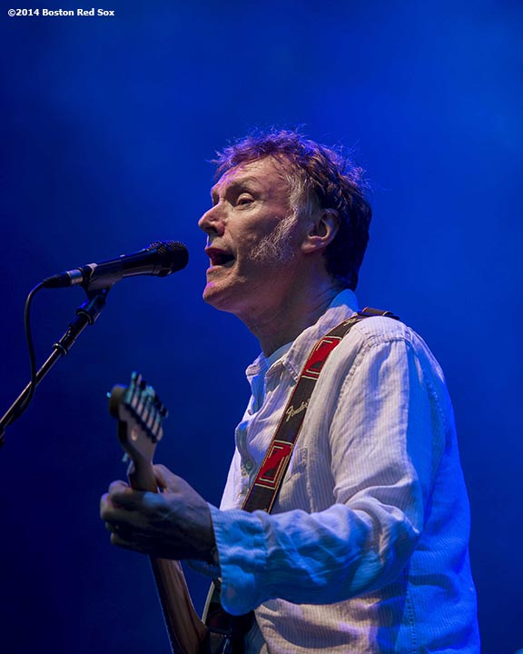 """Steve Winwood performs as the opening act at a concert featuring Tom Petty and the Heartbreakers at Fenway Park in Boston, Massachusetts Saturday, August 30, 2014."""