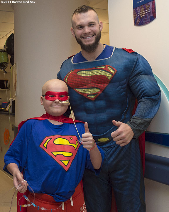 Photos: Drake Britton Makes Halloween Visit To Hospital. – Billie ...