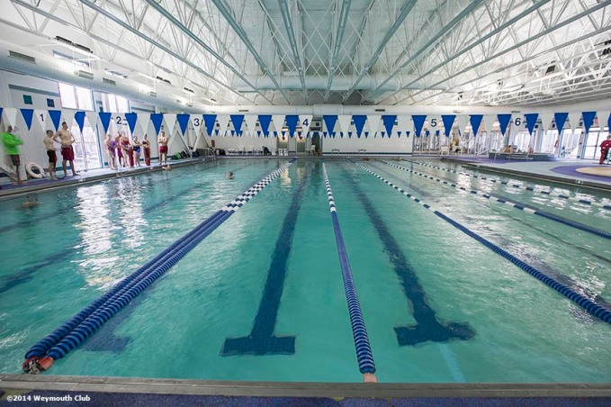 """The indoor swimming pool is shown at the Weymouth Club Tennis & Fitness Center in Weymouth, Massachusetts Sunday, December 21, 2014."""