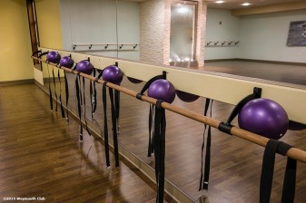 """The yoga studio is shown at the Weymouth Club Tennis & Fitness Center in Weymouth, Massachusetts Sunday, December 21, 2014."""