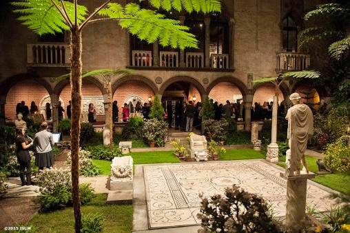 """The courtyard is shown during a capital campaign fundraiser event at the Isabella Stewart Gardner Museum in Boston, Massachusetts Saturday, January 31, 2015."""