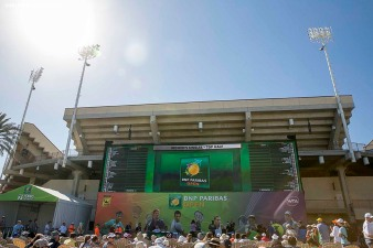 """The WTA Draw Ceremony is held at the Indian Wells Tennis Garden in Indian Wells, California Monday, March 9, 2015."""