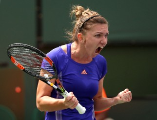"""The 2015 BNP Paribas Open Women's Singles Final between Simona Halep and Jelena Jankovic in Indian Wells, California on Sunday, March 22, 2015."""