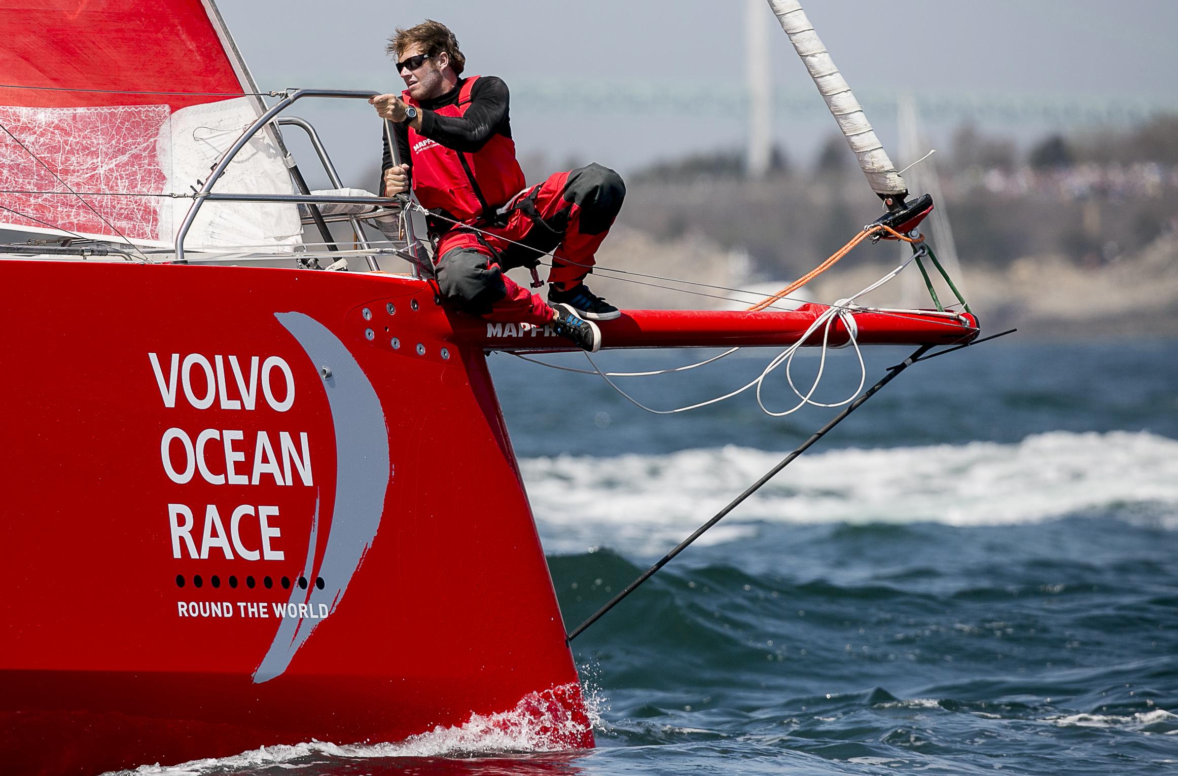 Photos: Volvo Ocean Race Departs Newport. – Billie with an I.E.