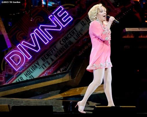"""Singer Bette Midler performs during a concert at the TD Garden in Boston, Massachusetts Friday, June 12, 2015."""