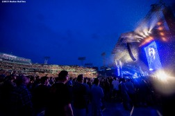 """""""Fenway Park is shown during a Foo Fighters concert at Fenway Park in Boston, Massachusetts Sunday, July 19, 2015."""""""