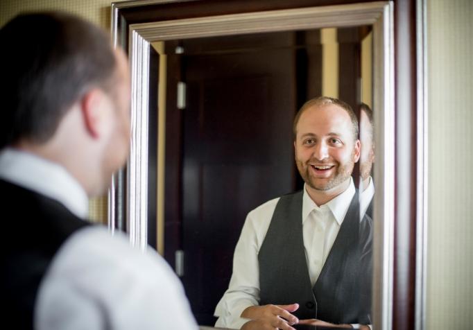 The wedding of Talor Waintrup at the Intercontinental Hotel in Boston, Massachusetts Sunday, August 16, 2015.