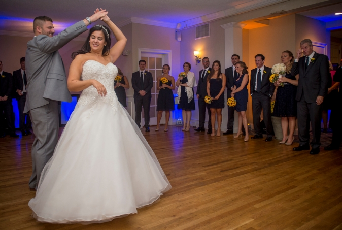 """The wedding of Lauren Hess and Andrew Pulner at Warwick Country Club in Narraganset, Rhode Island Saturday, September 26, 2015."""