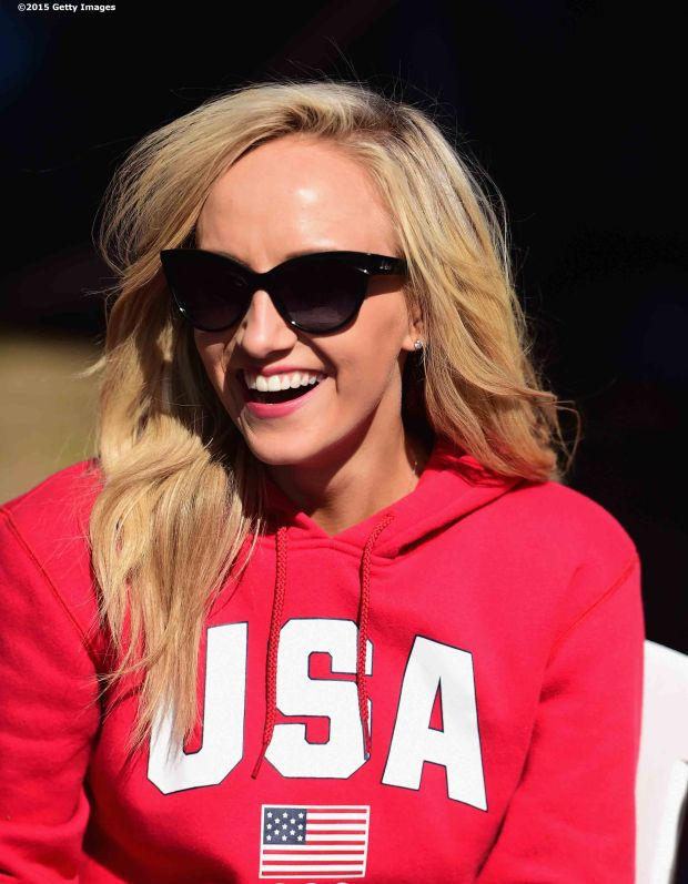 BOSTON, MA - OCTOBER 17: US Olympian Nastia Liukin attends a Road to Rio Tour presented by Liberty Mutual Insurance event on October 17, 2015 at the Head of the Charles Regatta in Boston, Massachusetts. (Photo by Billie Weiss/Getty Images for the USOC)