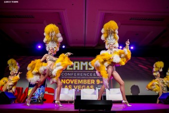 """Jubilee dancers perform at the General Session #1 during the TEAMS Conference & Expo at Mandalay Bay Convention Center in Las Vegas, Nevada Monday, November 5, 2015."""