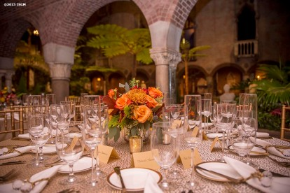 """A farewell dinner is held for Museum Director Anne Hawley at the Isabella Stewart Gardner Museum in Boston, Massachusetts Sunday, November 1, 2015."""
