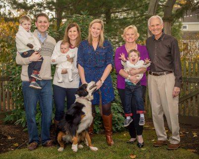 """""""The McDevitt family poses for a photograph on Thanksgiving in Milton, Massachusetts Thursday, November 26, 2015."""""""