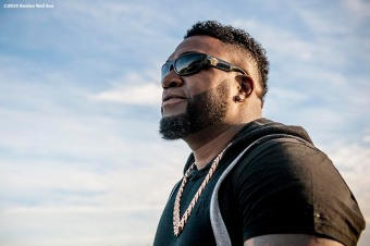 FT. MYERS, FL - FEBRUARY 22: David Ortiz #34 of the Boston Red Sox arrives for a team workout on February 22, 2016 at Fenway South in Fort Myers, Florida . (Photo by Billie Weiss/Boston Red Sox/Getty Images) *** Local Caption *** David Ortiz