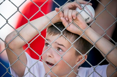 FT. MYERS, FL - FEBRUARY 22: A fan watches a Boston Red Sox team workout on February 22, 2016 at Fenway South in Fort Myers, Florida . (Photo by Billie Weiss/Boston Red Sox/Getty Images) *** Local Caption ***