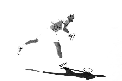 March 18, 2016, Palm Springs, CA: Novak Djokovic in action during a quarter-final match against Jo-Wilfried Tsonga during the 2016 BNP Paribas Open at the Indian Wells Tennis Garden in Indian Wells, California Friday, March 18, 2016. (Photos by Billie Weiss/BNP Paribas Open)
