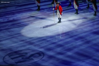 BOSTON, MA - MARCH 30: Opening ceremonies are held during Day 3 of the ISU World Figure Skating Championships 2016 at TD Garden on March 30, 2016 in Boston, Massachusetts. (Photo by Billie Weiss - ISU/ISU via Getty Images)