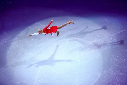 BOSTON, MA - APRIL 3: Anna Pogorilaya of Russia performs during the exhibition of champions during Day 7 of the ISU World Figure Skating Championships 2016 at TD Garden on April 3, 2016 in Boston, Massachusetts. (Photo by Billie Weiss - ISU/ISU via Getty Images) *** Local Caption *** Anna Pogorilaya