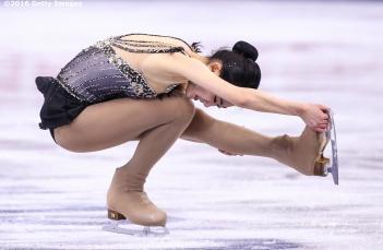 BOSTON, MA - APRIL 2: Zijun Li of China competes during Day 6 of the ISU World Figure Skating Championships 2016 at TD Garden on April 2, 2016 in Boston, Massachusetts. (Photo by Billie Weiss - ISU/ISU via Getty Images) *** Local Caption *** Zijun Li