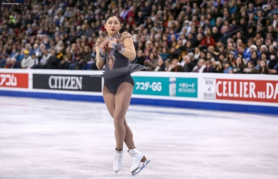 BOSTON, MA - MARCH 31: Mirai Nagasu of the United States competes during Day 4 of the ISU World Figure Skating Championships 2016 at TD Garden on March 31, 2016 in Boston, Massachusetts. (Photo by Billie Weiss - ISU/ISU via Getty Images) *** Local Caption *** Mirai Nagasu