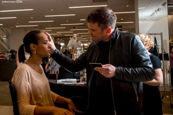 """""""Guests attend the Estee Lauder Fabulous at Every Age event at Saks Fifth Avenue in Boston, Massachusetts Friday, April 22, 2016."""""""
