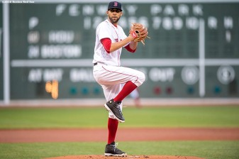 BOSTON, MA - MAY 12: David Price #24 of the Boston Red Sox delivers during the first inning of a game against the Houston Astros on May 12, 2016 at Fenway Park in Boston, Massachusetts. (Photo by Billie Weiss/Boston Red Sox/Getty Images) *** Local Caption *** David Price