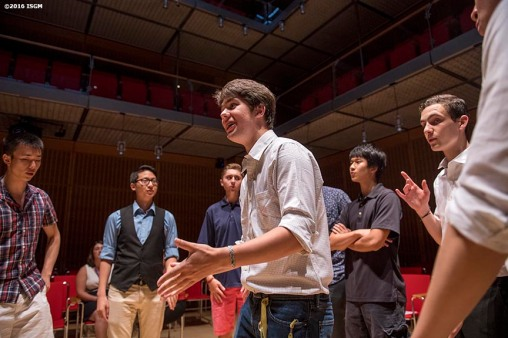 June 23, 2016, Boston, MA: Performances are held in Calderwood Hall during Teen Night at the Isabella Stewart Gardner Museum in Boston, Massachusetts Thursday, June 23, 2016. (Photo by Billie Weiss/Isabella Stewart Gardner Museum)
