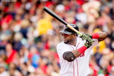 BOSTON, MA - JULY 8: David Ortiz #34of the Boston Red Sox bats during the second inning of a game against the Tampa Bay Rays on July 9, 2016 at Fenway Park in Boston, Massachusetts. (Photo by Billie Weiss/Boston Red Sox/Getty Images) *** Local Caption *** David Ortiz