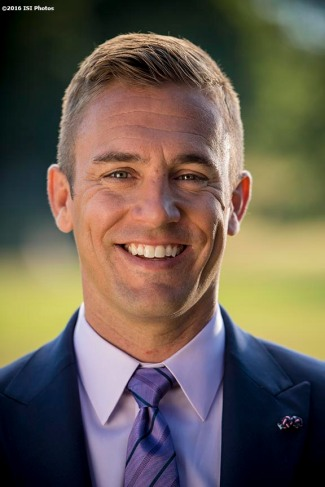 July 21, 2016, Southborough, MA: Former Major League Soccer player and current ESPN Soccer Analyst Taylor Twellman poses for a portrait at The Fay School in Southborough, Massachusetts Thursday, July 21, 2016. (Photo by Billie Weiss/ISI Photos)