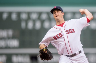 BOSTON, MA - JULY 25: Drew Pomeranz #31 of the Boston Red Sox delivers during the first inning of a game against the Detroit Tigers on July 25, 2016 at Fenway Park in Boston, Massachusetts. (Photo by Billie Weiss/Boston Red Sox/Getty Images) *** Local Caption *** Drew Pomeranz