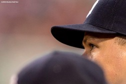 BOSTON, MA - AUGUST 9: Alex Rodriguez #13 of the New York Yankees looks on during the eighth inning of a game against the Boston Red Sox on August 9, 2016 at Fenway Park in Boston, Massachusetts. (Photo by Billie Weiss/Boston Red Sox/Getty Images) *** Local Caption *** Alex Rodriguez