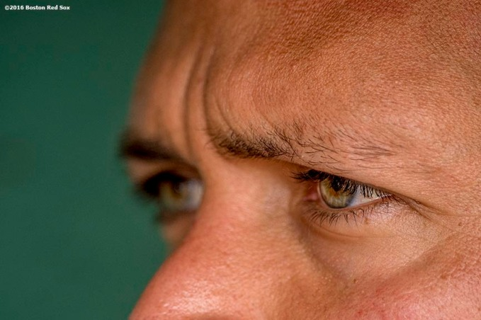BOSTON, MA - AUGUST 10: Alex Rodriguez #13 of the New York Yankees looks on before a game against the Boston Red Sox on August 10, 2016 at Fenway Park in Boston, Massachusetts. (Photo by Billie Weiss/Boston Red Sox/Getty Images) *** Local Caption *** Alex Rodriguez