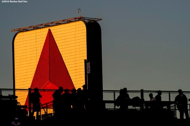 BOSTON, MA - SEPTEMBER 12: The Citgo sign is shown before a game between the Boston Red Sox and the Baltimore Orioles on September 12, 2016 at Fenway Park in Boston, Massachusetts. (Photo by Billie Weiss/Boston Red Sox/Getty Images) *** Local Caption ***