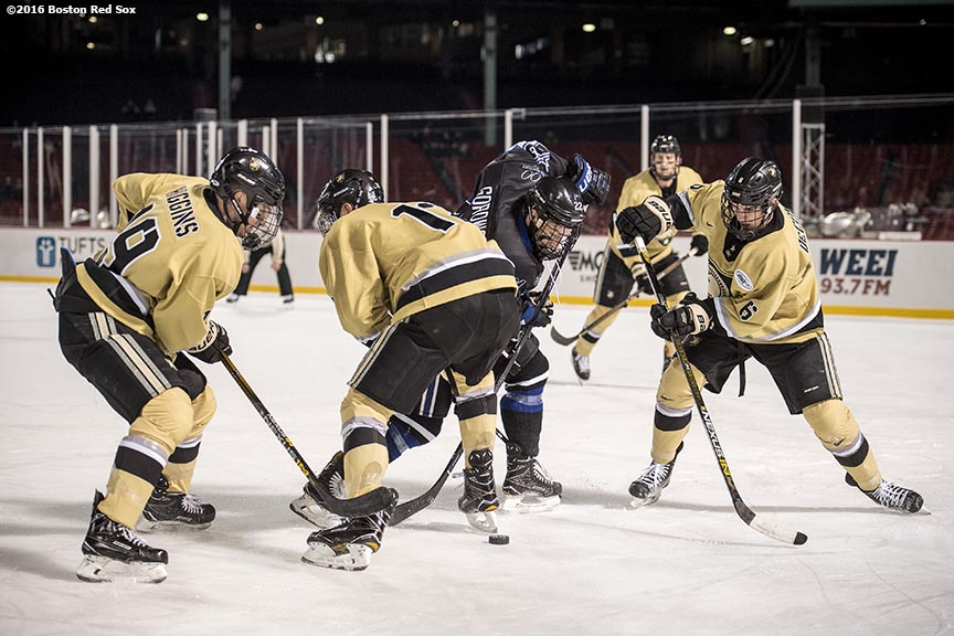 b2bd62950 Photos: Frozen Fenway 2017 – Army West Point vs. Bentley University. –  Billie with an I.E.