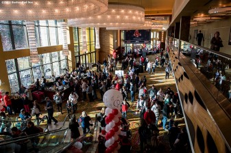January 21, 2017, Ledyard, CT: Fans attend the 2017 Red Sox Winter Weekend at Foxwoods Resort & Casino in Ledyard, Connecticut Saturday, January 21, 2017. (Photo by Billie Weiss/Boston Red Sox)