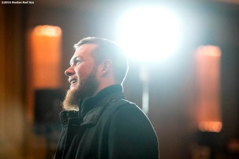 January 21, 2017, Ledyard, CT: Boston Red Sox pitcher Craig Kimbrel attends the 2017 Red Sox Winter Weekend at Foxwoods Resort & Casino in Ledyard, Connecticut Saturday, January 21, 2017. (Photo by Billie Weiss/Boston Red Sox)