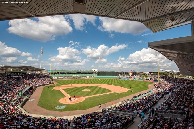 FT. MYERS, FL - FEBRUARY 28: A general view during a Spring Training game between the Boston Red Sox and the New York Yankees on February 28, 2017 at Fenway South in Fort Myers, Florida . (Photo by Billie Weiss/Boston Red Sox/Getty Images) *** Local Caption ***