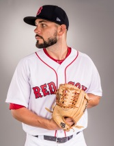 FT. MYERS, FL - FEBRUARY 19: Robby Scott of the Boston Red Sox poses for a portrait during photo day on February 19, 2017 at Fenway South in Fort Myers, Florida . (Photo by Billie Weiss/Boston Red Sox/Getty Images) *** Local Caption *** Robby Scott