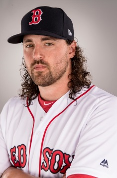FT. MYERS, FL - FEBRUARY 19: Heath Hembree of the Boston Red Sox poses for a portrait during photo day on February 19, 2017 at Fenway South in Fort Myers, Florida . (Photo by Billie Weiss/Boston Red Sox/Getty Images) *** Local Caption *** Heath Hembree