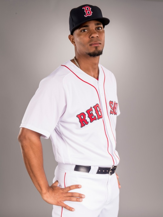 FT. MYERS, FL - FEBRUARY 19: Xander Bogaerts of the Boston Red Sox poses for a portrait during photo day on February 19, 2017 at Fenway South in Fort Myers, Florida . (Photo by Billie Weiss/Boston Red Sox/Getty Images) *** Local Caption *** Xander Bogaerts