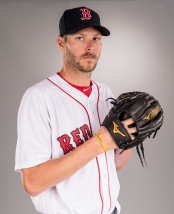 FT. MYERS, FL - FEBRUARY 19: Chris Sale of the Boston Red Sox poses for a portrait during photo day on February 19, 2017 at Fenway South in Fort Myers, Florida . (Photo by Billie Weiss/Boston Red Sox/Getty Images) *** Local Caption *** Chris Sale