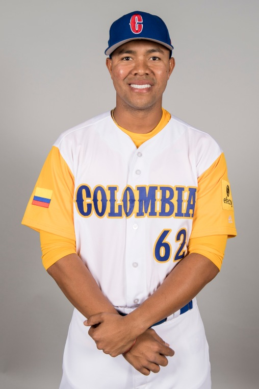 FORT MYERS, FL - MARCH 7: Jose Quintana # 62of Team Colombia poses for a headshot for Pool C of the 2017 World Baseball Classic on Tuesday, March 7, 2017 at CenturyLink Sports Complex in Fort Myers, Florida. (Photo by Billie Weiss/WBCI/MLB Photos via Getty Images) *** Local Caption *** Jose Quintana