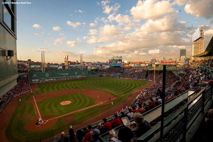 BOSTON, MA - MAY 2: A general view during a game between the Boston Red Sox and the Baltimore Orioles on May 2, 2017 at Fenway Park in Boston, Massachusetts. (Photo by Billie Weiss/Boston Red Sox/Getty Images) *** Local Caption ***
