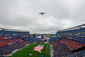 FOXBORO, MA - MAY 29: A general view before the Division I Men's Lacrosse Championship between the Maryland Terrapins and the Ohio State Buckeyes at Gillette Stadium on May 29, 2017 in Foxboro, Massachusetts. (Photo by Billie Weiss/Getty Images) *** Local Caption ***